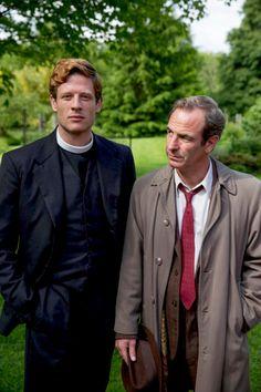 "Sidney & Geordie in ""Grantchester"""