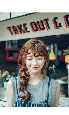 Korean Hairstyles and Fashion Official Korean fashion – hair bangs long
