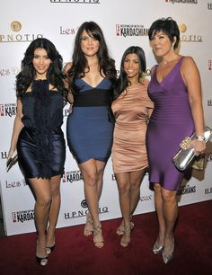 Or repped the body-con. | Just A Reminder That Kim Kardashian Used To Dress Like This