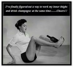 That's my kind of exercise!