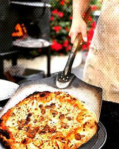 #johndoughpizzaandprovision #ovenroastedmushrooms #mozzarella #ins... Italian Sausage In Oven, Oven Roasted Mushrooms, Mozzarella, Quiche, Breakfast, Food, Morning Coffee, Quiches, Meals