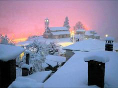 Milia village in Ioannina, Greece Albania, Montenegro, Myconos, Places In Greece, Paradise On Earth, Winter Scenes, Countries Of The World, Great Photos, Night Life