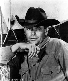 """4b84ed2bee16e1 Glenn Ford in """"Cowboy"""" Ford (May 1916 – August was a Canadian-born American  actor from Hollywood's Golden Era with a career that spanned seven decades."""
