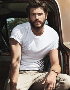 Pin for Later: Liam Hemsworth Looks Ridiculously Dreamy in This Photo Shoot