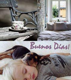 Buenos dias y dulce despertar! #buenosdias #miercoles #mañanas #cafe #despertar #badebaño