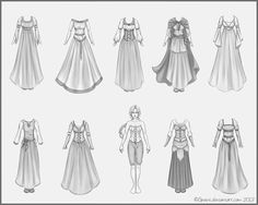 medieval clothes tutorial drawing - Google Search