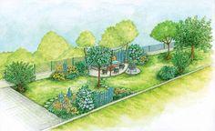 Reihenhausgärten sind in der Regel schmal und schwierig zu gestalten. MEIN SCHÖNER GARTEN zeigt Ihnen, wie mit den richtigen Ideen daraus ein Garten mit romantischem Flair oder eine Wohlfühl-Oase wird. (Pflanzplan als PDF zum Herunterladen und Ausdrucken)