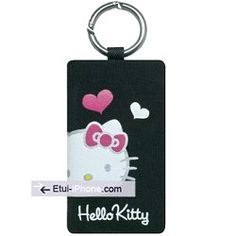 Chaussette pochette universelle Hello Kitty coeur sur http://www.etui-iphone.com/c/etui-iphone-3gs.awp