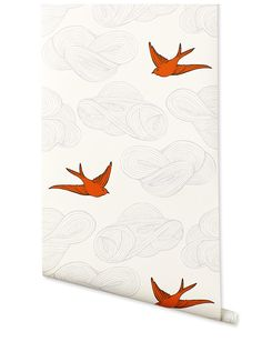 Daydream (Orange) – Hygge & West- use for a home made wall or curtain stamp design?