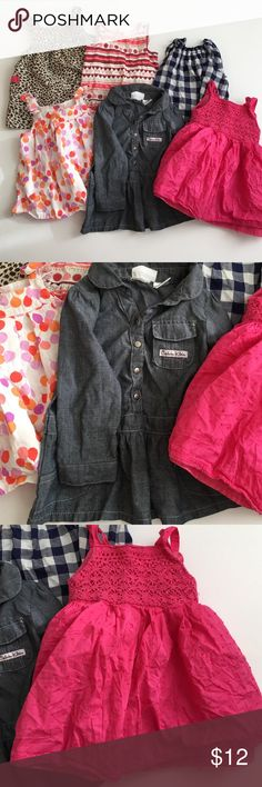 18 months bundle Calvin Kline ,Gymboree, H&M , carters, Jenny and me, wonder kids all in perfect condition H&M Dresses