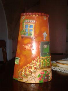 #tegola #decoupage #fimo #decorazioni #hobby #decoro