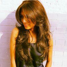 Nicole Scherzinger Hair Extensions