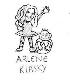 """Homenajeando a los grandes  Arlene Klasky (nacida el 26 de mayo de 1949) es una animadora, diseñadora gráfica y productora de televisión estadounidense y cofundadora de la empresa Klasky-Csupo con Gábor Csupó.Arlene Klasky es una de las principales impulsoras de la industria televisiva por la programación animada. Es mejor conocida por el diseño creativo de la serie infantil """"LosRugrats""""  ¡Felicidades Arlene Klasky!Dibujo: Kareni Santiago"""