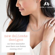 Easy does it — discover new delicate designs in my boutique now!