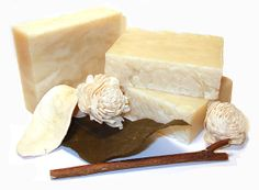 UNSCENTED  Shea Butter & Olive Oil Soap   by OrchidBlueCosmetics, $4.00