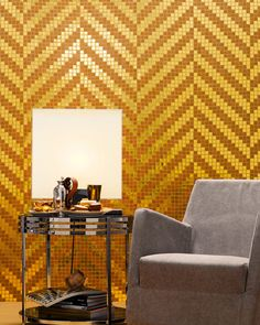 Glass #mosaic TWILL by BISAZZA Mosaico | #design Marco Braga