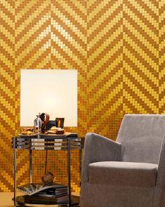 Glass #mosaic TWILL by BISAZZA Mosaico | #design Marco Braga