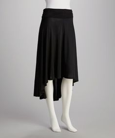 Take a look at this Black Ruched Skirt by India Boutique on #zulily today! $19.99, regular 50.00
