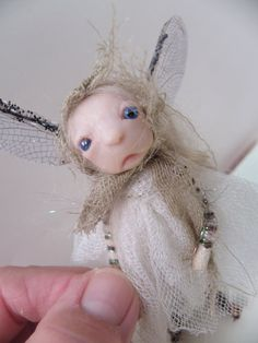 ooak poseable TATTERED WOOD pixie fairy 2  art by dinkydarlings, $59.00