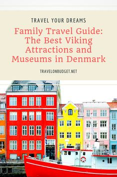 Denmark, like the rest of Scandinavia, has a history richly intertwined with that of the Vikings. This family travel guide describes the best Viking museums and attractions in Denmark by region. Traveling With Baby, Travel With Kids, Family Travel, Traveling By Yourself, Summer Travel, Holiday Travel, Time Travel, Viking Museum, Viking Ship