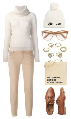 """""""Untitled #390"""" by lbenigni ❤ liked on Polyvore featuring Jacob Cohёn, Maiyet, Wildfox, Kate Spade and Gap"""