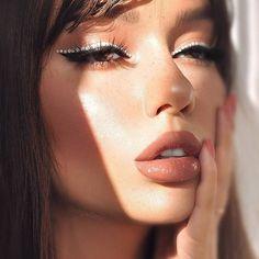 53 Hottest eye makeup looks, euphoria makeup looks hottest makeup looks , colored wing eyeliner, rhinestone eye makeup , makeup trends Makeup Trends, Makeup Inspo, Makeup Art, Beauty Makeup, Hair Makeup, Hair Beauty, Makeup Ideas, Skull Makeup, Clown Makeup