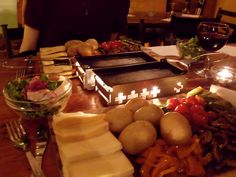 "Raclette for ""a party of 2""!"