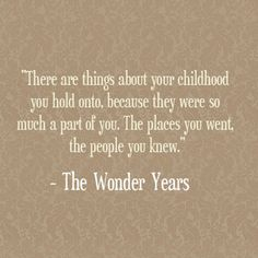 The wonder years quote
