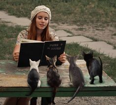 Book Club, Kitty Cats, David Dubnitskiy.