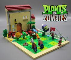 LEGO Ideas - Plants vs Zombies