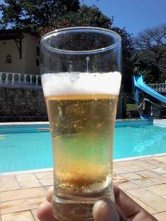 #cerveja #beer #piscina