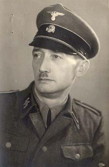 Austria, Paul Winter, commander of blocks 13-15 in Mauthausen death camp toward the end of the war. EVIL man
