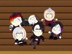 South Park Vampire Society - South Park Archives - Cartman, Stan, Kenny, Kyle