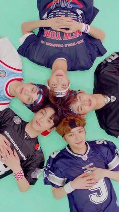 TXT Wallpaper - Tomorrow × Together - Info Korea Mtv Video Music Award, Foto Bts, K Pop, Cat Dog, The Dream, March 4, Young Ones, Fan Art, Kpop Groups