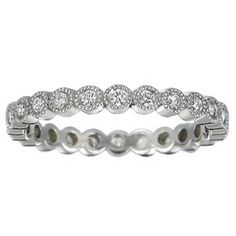 Platinum Solstice Eternity Diamond Ring