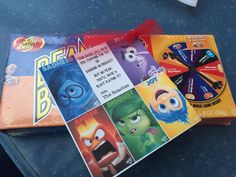 Bean Boozled game with clever Inside Out tag