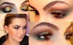 maquiagem para noite verde 7
