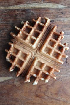 {No Sugar Added} Banana Waffles for Baby - Healthy Food For Living