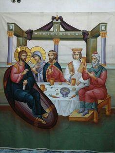 Byzantine Icons, Catholic Art, Christ, Saints, Wedding, Painting, Byzantine Art, Valentines Day Weddings, Painting Art