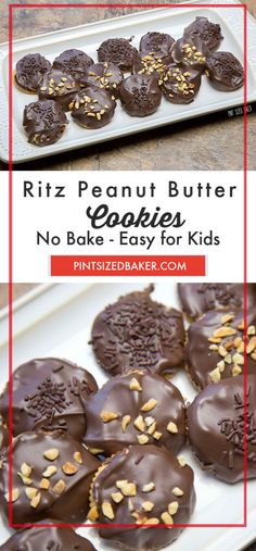 Ritz Peanut Butter No Bake Cookies Grab the kids and make these sweet and salty Ritz No Bake Peanut Butter Cookies. So quick and easy to make. Peanut Butter No Bake, Peanut Butter Recipes, Best Cookie Recipes, Cookie Butter, Best Chocolate, Chocolate Desserts, Chocolate Lovers, Chocolate Cookies, No Bake Cookies