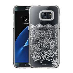 Samsung Galaxy S7 Edge Delicate White Lace Case