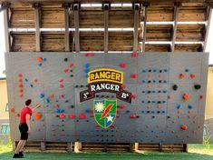 Ft. Benning Ranger training wall Climbing Wall, Rock Climbing, Bouldering Gym, Ranger, Walls, Training, Wands, Wall, Climbing