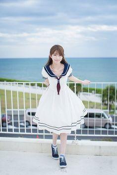 Kawaii Fashion, Lolita Fashion, Cute Fashion, Girl Fashion, Asian Cute, Cute Asian Girls, Cute Girls, Beautiful Japanese Girl, Beautiful Asian Girls
