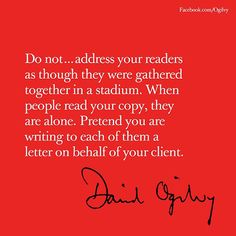 25 Best Creative Quotes shared by Ogilvy Cannes