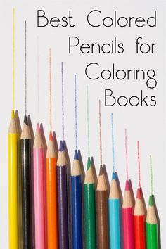 Are you looking for the best colored pencils for coloring books? This is my top five list - I've tested all of them for you and here are my picks!