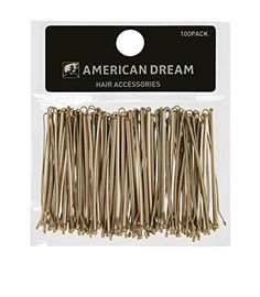 American Dream Straight Hair Pins, Brown Cm - Pack Of 100 * Learn more by visiting the image link. (This is an affiliate link and I receive a commission for the sales) Wholesale Hair Accessories, Organizing Hair Accessories, Hair Accessories For Women, Dream Hair, Fair Skin, American, Straight Hairstyles, Hair Pins, Blond