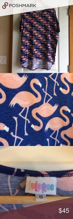 LuLaRoe Flamingo Irma! 🦄 Worn 3 times, hand washed. Great condition. So fun!! LuLaRoe Tops