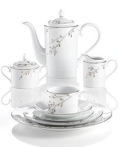 Birchwood by Noritake Vase Deco, Tea Pot Set, Tea Sets, Porcelain Dolls For Sale, Diy Tableware, Vases, Glass Tea Cups, Crystal Stemware, Painted Wine Glasses