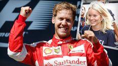 Große Freude bei Sebastian Vettel: Der Nachwuchs ist geboren