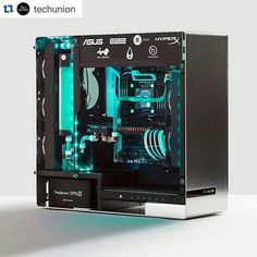 Instagram media by pcmonstrobh - #Repost @techunion with @repostapp. ・・・ DAAAAMMMMNNN! This build by @asus_roguk is sick! What do you think? #techunion #tech #asus #rog #asusrog #pcbuild #custompc #blue #pc #computer #gamepc #techlife #gamelife #lifestyle#pcmonstrobh